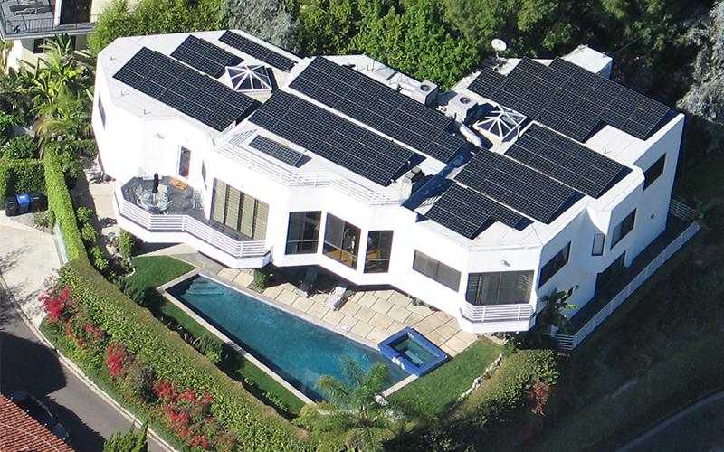 Hollywood-Hills-Solar-Power-System