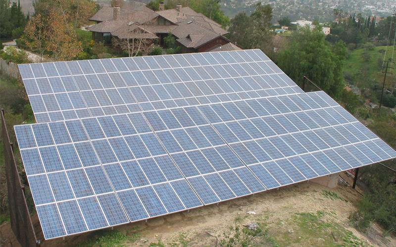 La-Canada-Solar-Power-System